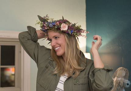 flower crown workshop fun